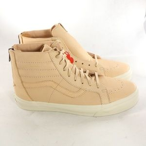 VANS SK8-Hi Reissue Zip DX Vegan Tan Sneakers